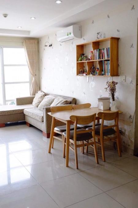 Cho thuê Chung cư Thinh Vượng ( số 531 nguyễn Duy Trinh) 2pn full nội thất. O9I886O3O4, 57m2, 2 phòng ngủ, 1 toilet