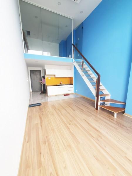 Căn hộ 1PN1WC 50m2 thiết kế cực bắt mắt, có sẵn nhiều nội thất, cho thuê giá cực tốt. Gần ĐH FPT, hutech, Hitu, Ufm, 50m2, 1 phòng ngủ, 1 toilet
