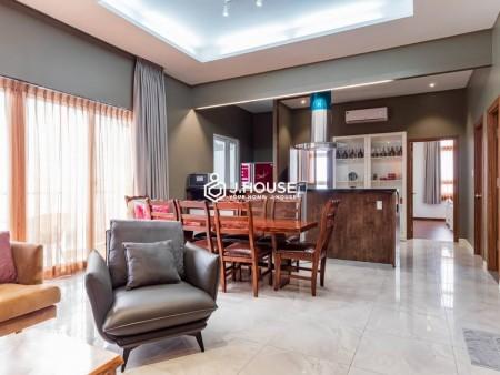 Cho thuê căn Penthouse 3PN-120m2 chung cư Sun Village Nguyễn Văn Đậu giá chỉ 20tr/th. LH 0932192028-Mai để xem nhà, 120m2, 3 phòng ngủ, 2 toilet