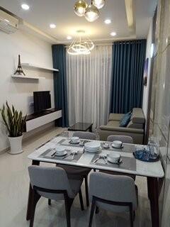 Căn hộ Golden Mansion Full nt cao cấp, 2 Phòng ngủ, Giá thuê #17Tr bao phí, 74m2, 2 phòng ngủ, 2 toilet