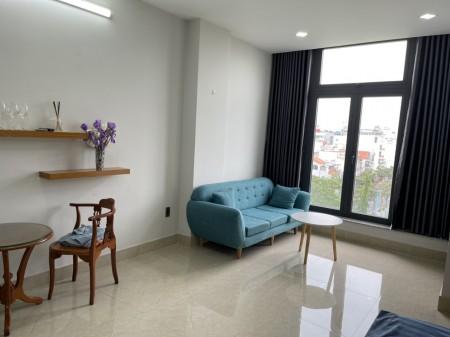 Cho thuê căn 1 phòng ngủ / 1WC đường Hồng Hà full tiện nghi #9 Triệu có ban công view công viên, 45m2, 1 phòng ngủ, 1 toilet