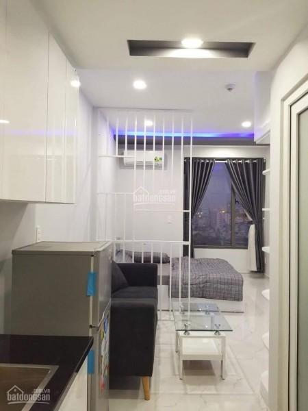 Cho thuê căn hộ Officetel rộng 30m2, 1 PN, đủ nội thất, giá 10 triệu/tháng, cc River Gate, 30m2, 1 phòng ngủ, 1 toilet