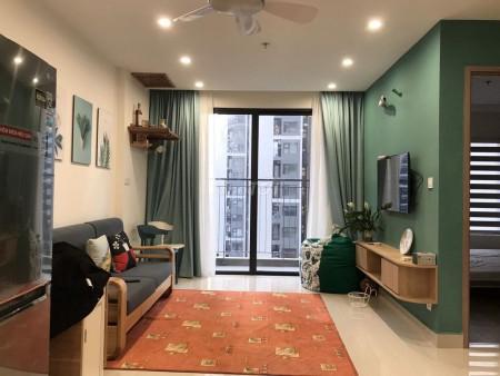 Căn hộ 2PN, 1WC, đầy đủ tiện nghi nội thất tại chung cư Vinhomes Smart City, 55m2, 2 phòng ngủ, 1 toilet