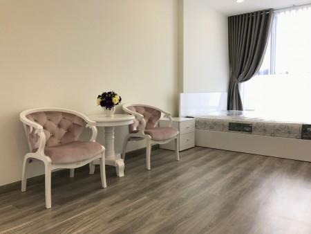 Cho thuê căn hộ Riva Park 59m2 1PN nội thất siêu xinh, chỉ 12tr/tháng., 59m2, 1 phòng ngủ, 1 toilet
