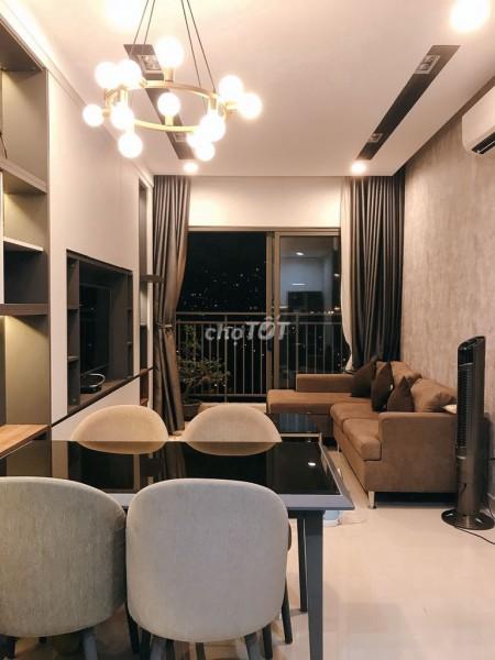 Cho thuê nhanh căn hộ cao cấp siêu đẹp tại chung cư The Sun Avenue trung tâm Quận 2, 75m2, 2 phòng ngủ, 2 toilet