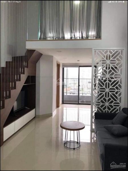 Trống căn hộ 42m2, tầng cao, 1 PN, dạng Officetel cần cho thuê giá 8 triệu/tháng, 42m2, 1 phòng ngủ, 1 toilet
