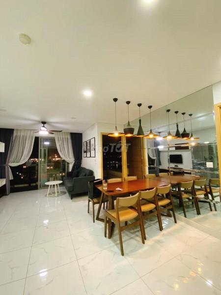 Skyline Phú Thuận, Quận 7 cần cho thuê căn 86m2, 2 PN, tầng cao, giá 15 triệu/tháng, 86m2, 2 phòng ngủ, 2 toilet