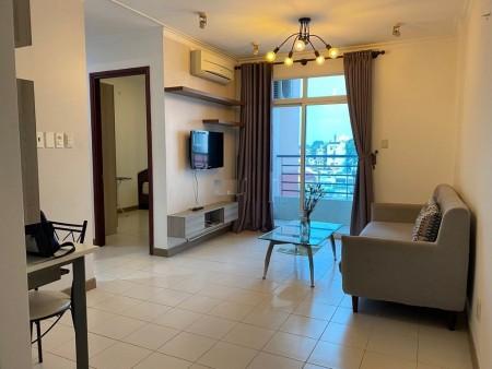 Cho thuê căn hộ cao cấp Phúc Thịnh Q.5 dt 70m, 2 phòng ngủ, đầy đủ nội thất, 70m2, 2 phòng ngủ, 1 toilet