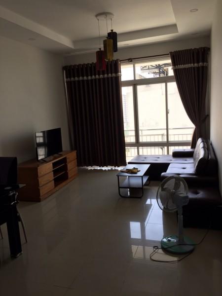 Cho thuê căn hộ 3 phòng ngủ chung cư Tản Đà Court phường 11 quận 5, 100m2, 3 phòng ngủ, 2 toilet