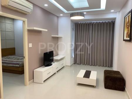 Cho Thuê Căn Hộ 2 Phòng Ngủ 70 m2. Đầy Đủ Nội Thất, Căn góc, 70m2, 2 phòng ngủ, 2 toilet