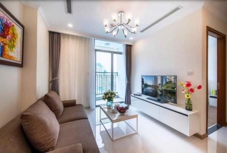 Cho thuê căn hộ Vinhome Central Park, đầy đủ nội thất, nhà đẹp, giá rẻ, 65m2, 2 phòng ngủ,