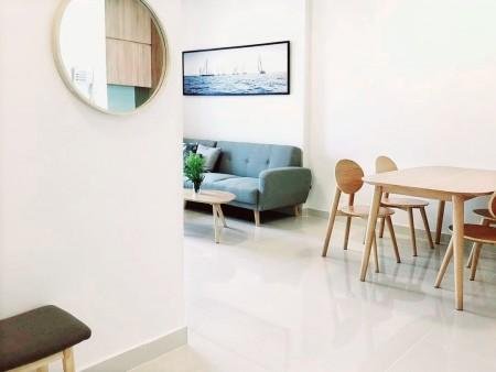Căn hộ 100% full nội thất Golden Mansion - Novaland Phổ Quang, Phú Nhuận 2PN, 2WC, 75m2, 16tr/th, 75m2, 2 phòng ngủ, 2 toilet