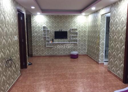 Cho thuê căn hộ chung cư 41 Bis Điện Biên Phủ Bình Thạnh. 65m2, 2PN, 1WC, 65m2, 2 phòng ngủ, 1 toilet
