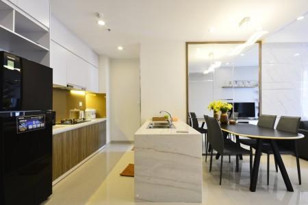 Cho thuê căn hộ-2PN 2WC tại River Gate- giá 18 triệu., 74m2, 2 phòng ngủ, 2 toilet