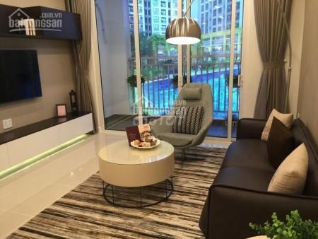 Cho thuê căn hộ tầng cao view đẹp, nhà mới xịn chung cư Bảy Hiền Tower, 98m2, 3 phòng ngủ, 2 toilet