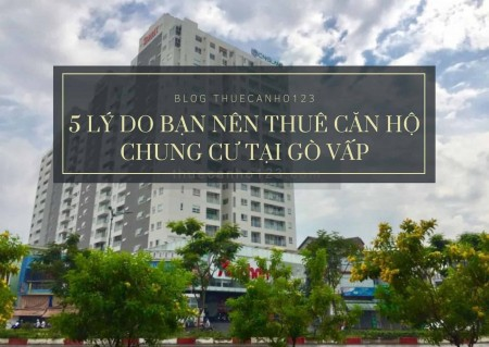 5 lý do bạn nên thuê căn hộ chung cư tại Gò Vấp