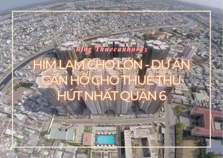 Him Lam Chợ Lớn - Dự án căn hộ cho thuê thu hút nhất quận 6