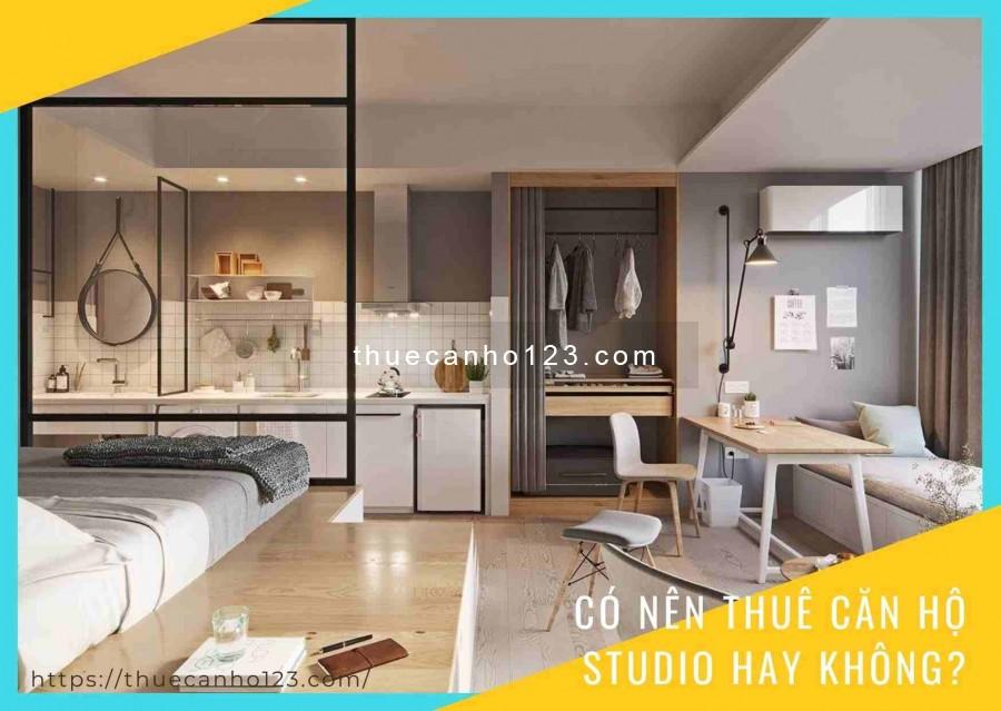 Có nên thuê căn hộ studio hay không?