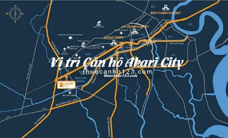 Vị trí căn hộ Akari City