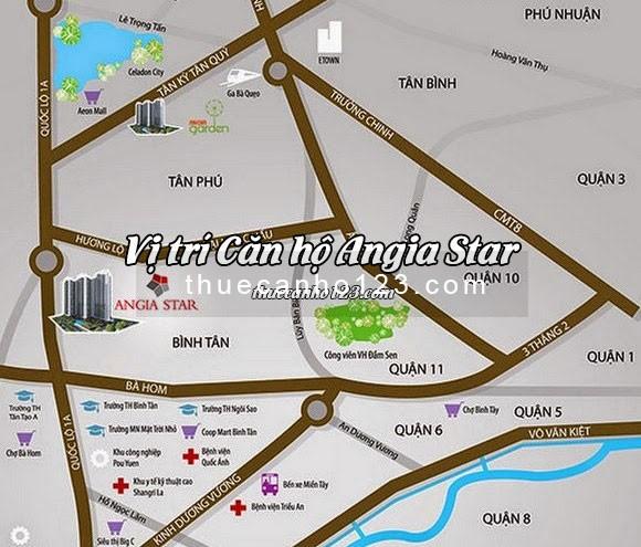Vị trí căn hộ Angia Star