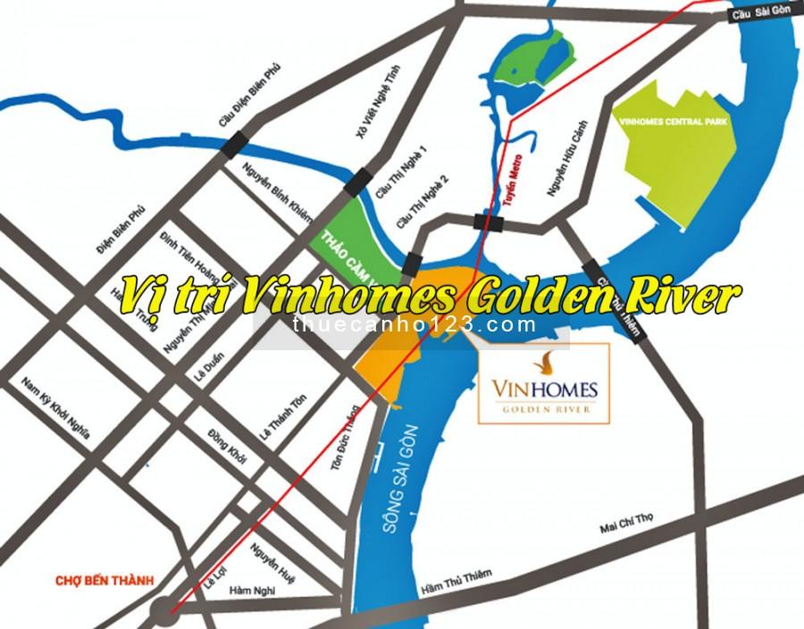 Vị trí giao thông thuận lợi Vinhomes Golden River