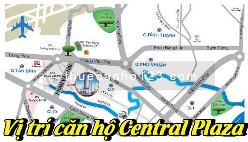 Vị trí căn hộ Central Plaza