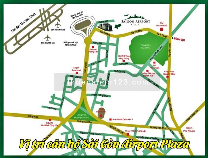 Vị trí căn hộ Sài Gòn Airport Plaza