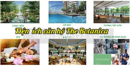Tiện ích căn hộ The Botanica