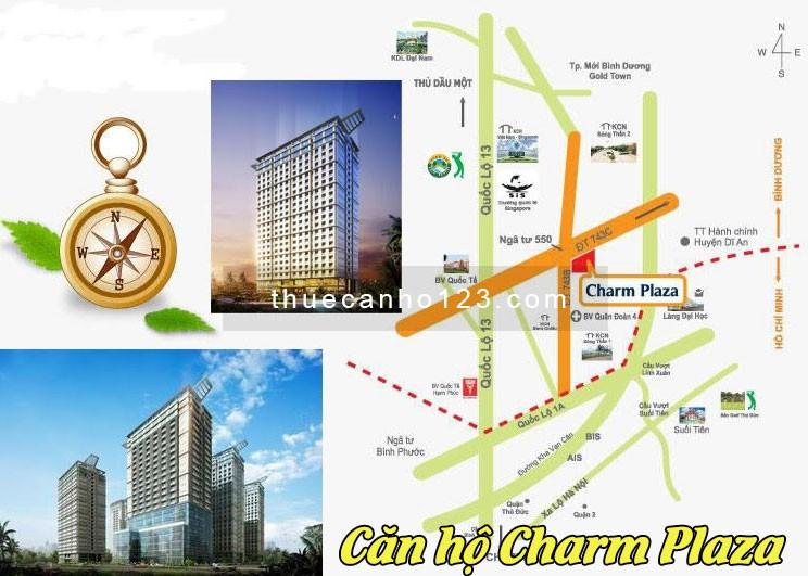 Vị trí căn hộ Charm Plaza