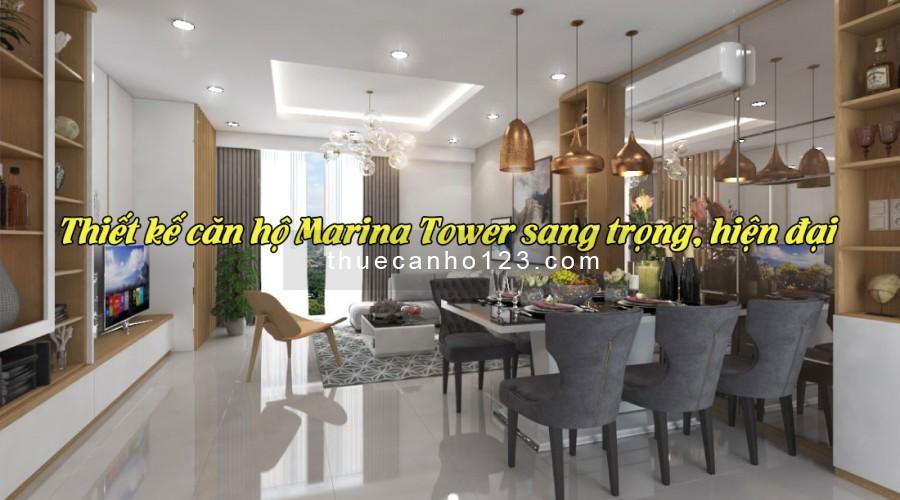 Thiết kế căn hộ Marina Tower sang trọng, hiện đại