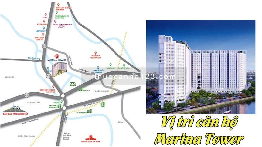 Vị trí căn hộ Marina Tower